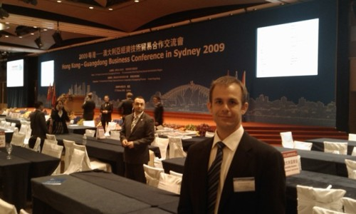 Business Coach Stephen Frost at the Hong Kong - Guangdong Business Conference in Sydney 2009